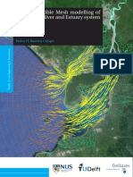 Delft3D Flexible Mesh modelling of the Guayas River and Estuary system in Ecuador