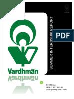 105327481-Summer-Internship-Report-Vardhman.pdf