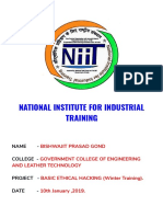 National Institute for Industrial Training Final - Google Docs
