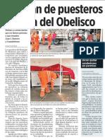 25-05-19 Limpian de puesteros la zona del Obelisco