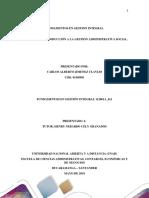 Tarea III Fundamentos Gestion Integral CARLOS JIMENEZ