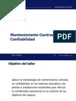Mantenimiento Centrado en Confiabilidad Barranquilla Plaza