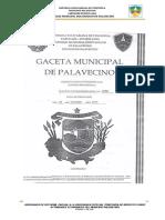Ordenanza Ref Iae Municipio Palavecino Cabudare Lara