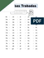 Ficha de Silabas Trabadas Para Segundo de Primaria