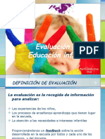 Evaluación en Educación Infantil