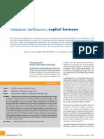 Globalizacion y Capital Humano