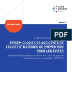 Rapport Epidemiologie Accidents Velo Strategies Prevention