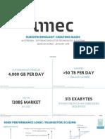 IMEC 1nm Technology