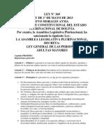 lLEY GENERAL DE LAS PERSONAS ADULTAS MAYORES Nº 369.pdf