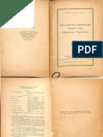 Penna_ Carlos_ Ideas Para Una Colaboración Integral Entre Bibliotecas Argentinas_1945