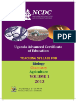 Biology Chemistry Agriculture