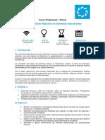 Temario_Compensación Reactiva Para Sistemas Industriales
