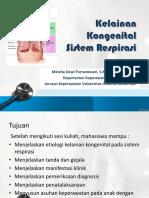 Kelainan Kongenital Sistem Respirasi