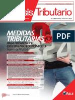 MEDIDAS TRIBUTARIAS PARA PROMOVER EL CRECIMIENTO ECONÓMICO