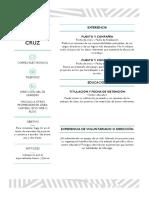 Higinio Pascual Cruz Curiculum Vitae