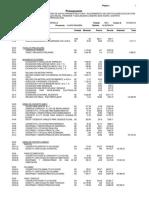 presupuesto de estructuras
