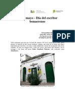 13 de Mayo, Dia Del Escritor Bonaerense