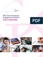 Why Does Employer Engagement Matter a Toolkit for Managing Employer Activities in Schools and Colleges