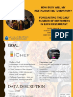 IChef Forecast Number of Restaurant Customers (Public) PPT