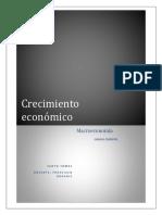 Trabajo de Macro Crecimiento Económico