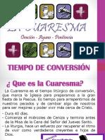 Retiro de Cuaresma Monaguillos Sta Rita.