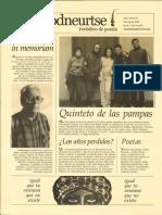 Odumodneurtse Revista de Poesía
