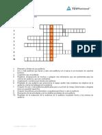 7. Crucigrama Auditorias
