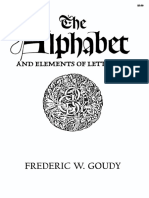 Alphabet and Elements of Lettering - Frederic William Goudy