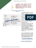 Windowsfacil. Manual Para Crear Carpetas en Windows 7
