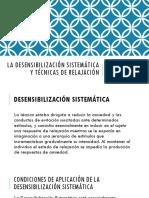 La Desensibilización Sistemática y Técnicas de Relajación-convertido-comprimido