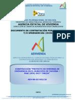 Contratacion Emergencia Obras YACUIBA