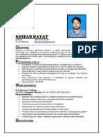 Khizzar Cv