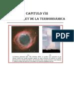 Cap. Viii. Fisica II. Primera Ley de La Termodinamica