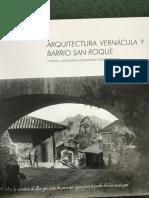 Arquitectura Vernácula y Barrio San Roque
