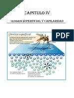 Cap. IV Tensión Superficial y Capilaridad