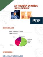 Patologia tiroidea . nodulos