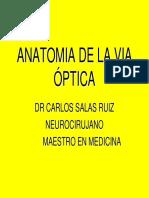 Anatomia de La via Optica
