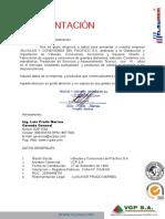 Carta de Presentacion Vcpsa