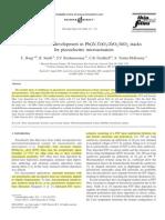 Residual Stress Development in Pb(Zr,Ti)O3ZrO2SiO2 Stacks[7]