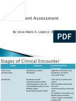 Patient Assessment for RT's