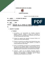 Directiva No 0258 de 2006-Creacion de La Oficina de Medio Ambiente