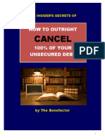 How to Outright Cancel 100 of Your Unsecured Debt Rev 2018-05-21