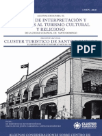Algunas ides para el Centro de Interpretacion  y servicios al turismo cultural y religioso de la Ciudad Colonial de Santo Domingo