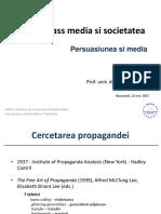 2. Persuasiunea Si Media 2017