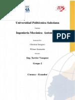 Informe Proyecto Neumatica e Hidraulica