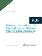 Mujeres Privadas de Libertad en El Sistema Penitenciario Argentino