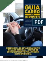 Credencial de Estacionamento Em Vaga Especial. Cartao de Estacionamento Para Deficiente