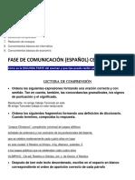 Fase de Comunicacion Ceneval(Español)