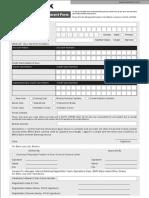 IB Application Form