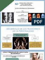 Desarrollo de Los Trastornos de La Personalidad - LISTO